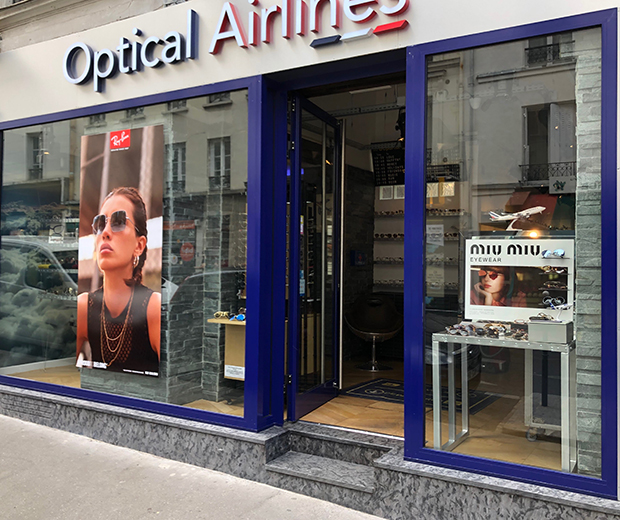 l'Opticien professionnel Optical airlines  63, rue des Batignolles Paris 17ème